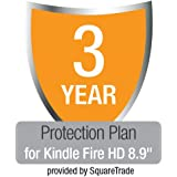 "3-Year Kindle Fire HD 8.9"" Protection Plan with Accident & Theft Cover by SquareTrade, UK customers only"