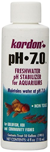 KORDON   # 35334 7.0-pH Freshwater Stabilizer for Aquarium, 4-Ounce