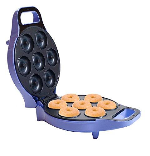 2-Inch-Diameter Donuts Purple Metal Mini Donut Maker, Dimension 4.5Hx7.75Wx11L