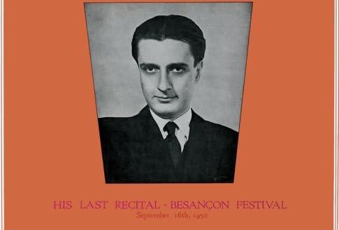 ブザンソン音楽祭における最後のリサイタル