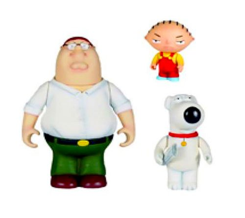Buy Low Price Mezco Family Guy: Trio Reissue Action Figure Assortment (B003VTLPVU)