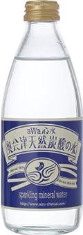 ハーベス aWa心水 奥会津天然炭酸の水 330ml×24本