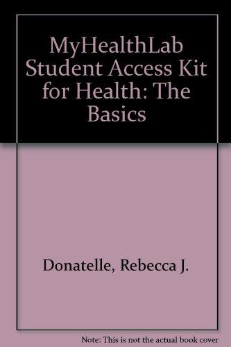 MyHealthLab Student Access Kit for Health: The Basics