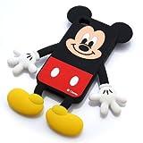 iPhone4S用ダイカットシリコンケース ミッキー