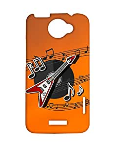 Mobifry Back Case Cover For Htc One X