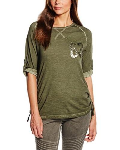 Timezone T-Shirt Manica Corta [Oliva]