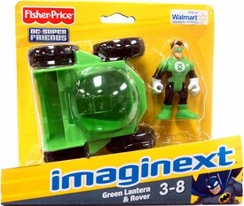 Fisher-Price Imaginext Dc Super Friends Exclusive Green Lantern & Rover