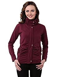 Purys wine winter fleece jacket