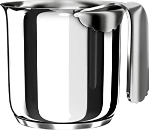 Alessi bollitore per latte dressed in acciaio inox con for Alessi dressed prezzo