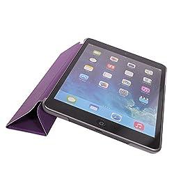 IPAD MINI Case, MOFI [Sparkle Series] Slim Flip Cover Case For APPLE IPAD MINI (Purple) [Auto Wake sleep] - Purple