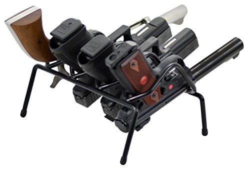 Armi 4-Pistola rivestite in vinile, colore: nero