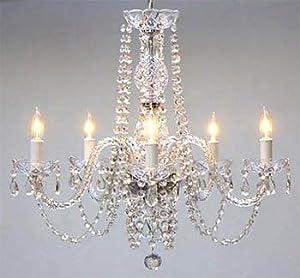 """Empress Crystal (tm) Chandelier Chandeliers Lighting H25"""" x W24"""