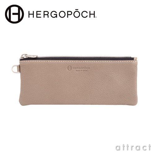 HERGOPOCH エルゴポック NO.11 Series Prime Grain Leather プライムグレインレザー マルチケース Sサイズ ポーチ ペンケース カラー:5色(11-MCS) (オーク)