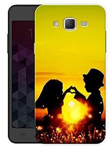 "Humor Gang Love Couple Sunshine Printed Designer Mobile Back Cover For ""Samsung Galaxy J5"" (3D, Matte, Premium Quality Snap On Case)"