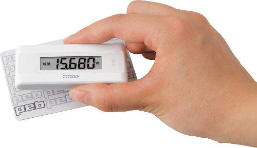 シチズン(CITIZEN) シチズン電子マネービューアー付き歩数計 ホワイト TWTC501-WH