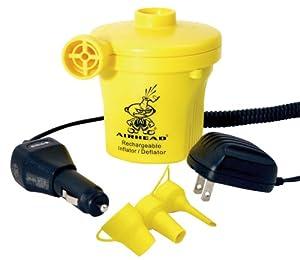 Buy AIRHEAD AHP-12R Rechargeable Air Pump (12-Volt) by Kwik Tek