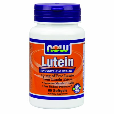Lutein Esters 10Mg Now Foods 60 Softgel