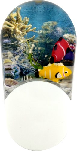 Jasco Aqualites Color-Changing Led Night Light, Tropical Fish