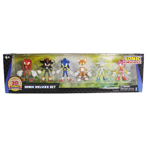 Amazon.com: Sonic the Hedgehog Modern Exclusive Action Figure 6 Pack