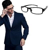 mtmdPC PCメガネ ブルーライト40%カットパソコン用メガネ スクエア パソコンメガネ PCグラス 黒ぶち/グロスブラック gf_5312_pre