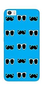DigiPrints Designer Back cover for Xiaomi Mi5-Multicolor