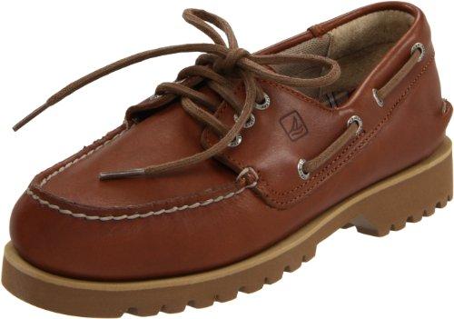 Sperry Boat Lug Chukka Shoes - Dark Tan