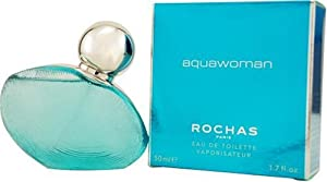 Aquawoman By Rochas For Women. Eau De Toilette Spray 1.7-Ounces
