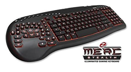Ideazon Merc Stealth Illuminated Gaming Keyboard