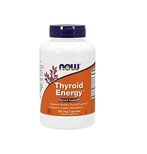 Now Foods Thyroid Energy Veg Capsules, 180 Count (Now Energy Capsules compare prices)