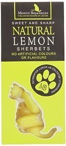 Monty Natural Lemon Sherbets 140 g (Pack of 6)