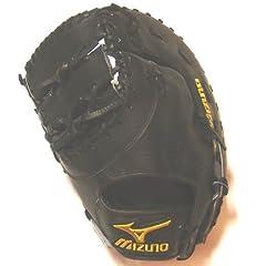 Mizuno Pro Limited GZP32 Black First Base Mitt 12.5 inch by Mizuno