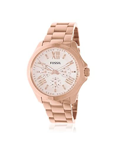 Fossil Women's AM4511 Cecile Analog Rose Gold Watch