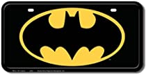 Batman Logo License Plate