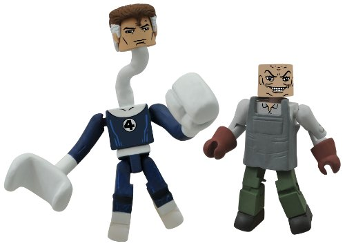 Diamond Select Toys Marvel Minimates Series 48: Mr. Fantastic and The Puppet Master - 1