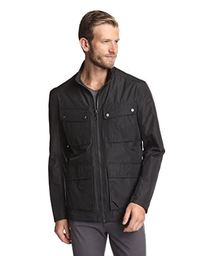Marc New York Men's 4 Pocket City Rain Field Coat