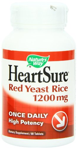 Nature'S Way Heartsure Red Yeast Rice 1200Mg, 60Tabs