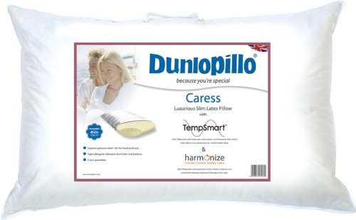 Dunlopillo Caress Pillow,Luxury Latex Pillow With Harmonize Technology