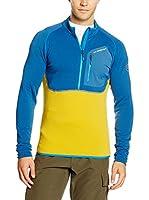 La Sportiva Camiseta Manga Larga Icon 2.0 M (Azul / Amarillo)