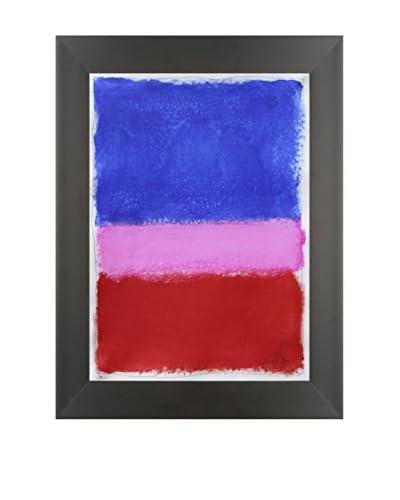 "Filippo Ioco ""Bright Bloom B"" Original Hand Painted Acrylic On Paper"