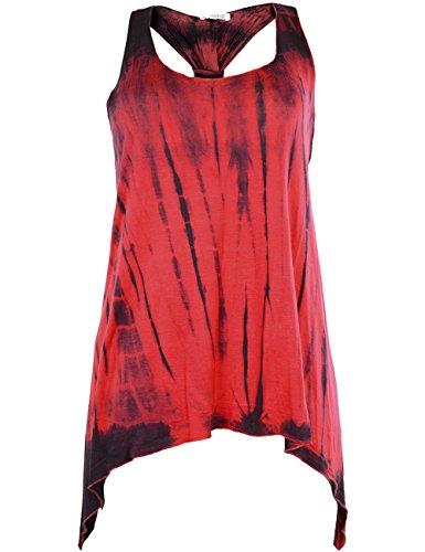innocent-lifestyle-camiseta-sin-mangas-efecto-tenido-sin-mangas-para-mujer-red-stripe-medium