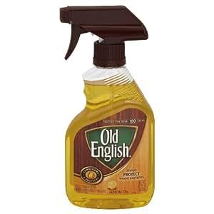 Old English Trigger Spray Lemon Oil, 12 Ounce