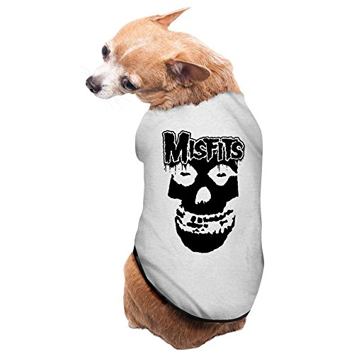 Gray Misfits Punk Rock Band Glenn Danzig Pet Supplies Dogs T Shirts Small Dog Costumes  sc 1 st  Cat and Dog Clothes & Gray Misfits Punk Rock Band Glenn Danzig Pet Supplies Dogs T Shirts ...