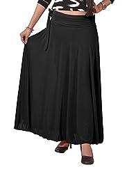 Ace Long Skirt-Black
