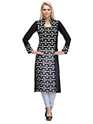 Just Wow Casual Solid, Printed Women's Kurti