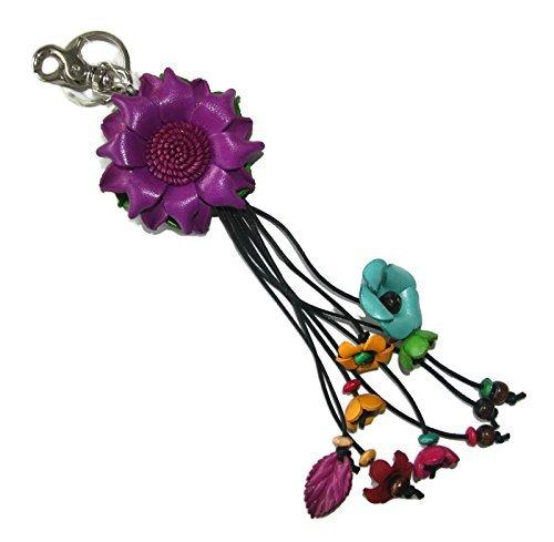 bella-pazzo-purple-handmade-lotus-flower-leather-keychain-key-ring-clasp-bag-charm-handbag-purse-cha