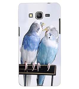 ColourCraft Love Birds Design Back Case Cover for SAMSUNG GALAXY GRAND PRIME DUOS TV G530BT