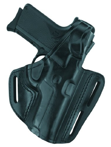 Details for Gould & Goodrich B803-G20LH Gold Line Three Slot Pancake Holster - Left Hand (Black) Fits GLOCK 20, 21, SW M&P .45 from Gould & Goodrich