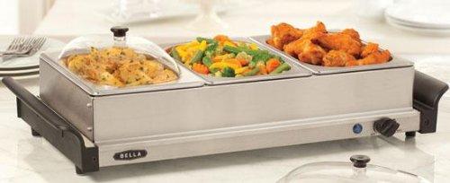 Cheap Triple Buffet Server & Warming Tray (B006FI54D4)