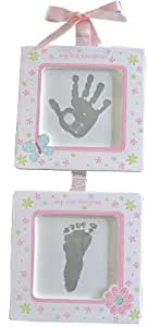 C.R. Gibson First Prints Handprint Kit, Pretty Petals (Discontinued by Manufacturer)
