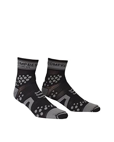 Compressport Calcetines Pro Racing V2 Trail Hi Negro / Gris EU 34-36 (T1)